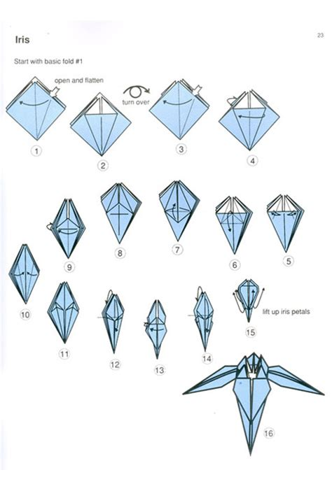 Free Origami Diagrams - origami folding patterns 171 free patterns
