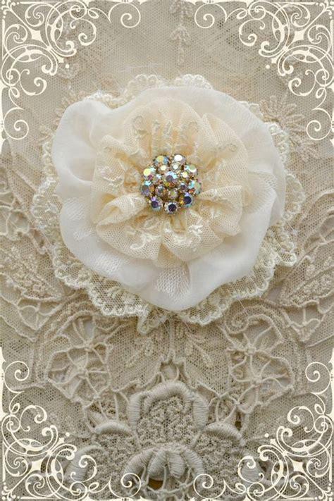 Handmade Lace Flowers - handmade flowers flower and silk on