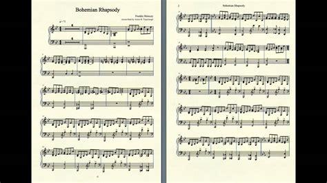 tutorial piano queen bohemian rhapsody bohemian rhapsody piano accompaniment youtube