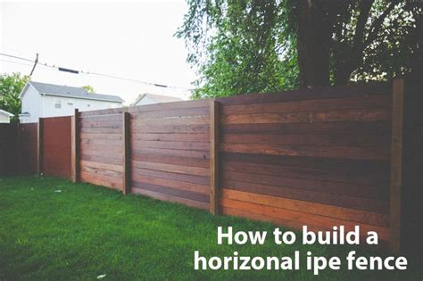 building a backyard fence how to build a horizontal fence fence diy diy