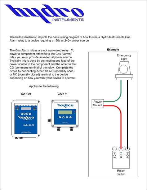 28 alarm relay wiring diagram wire a simple