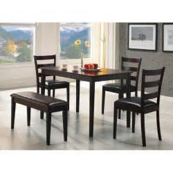 Dining Room Set With Bench Dining Table Bench Dining Table Back