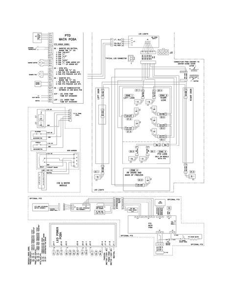 electrolux refrigerator wiring schematic wiring diagram