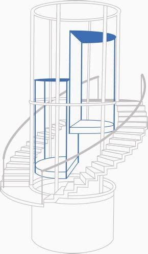 treppenhaus mit aufzug aufzug im treppenhaus enko mit fev aufzug