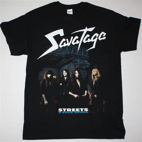 savatage streets a rock opera new black t shirt best