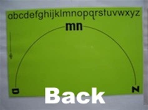 Alphabet Arc Mats by Abecedarian Lower Alphabet Arc Mat Overview