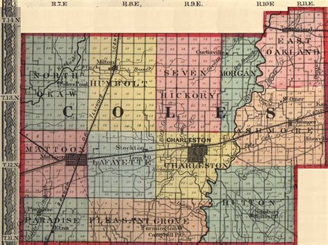 Coles County Search Coles County Illinois Maps And Gazetteers