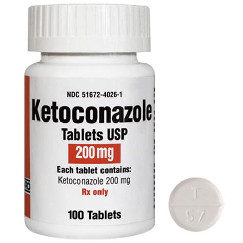 Tablet Ketoconazole ketoconazole tablets antifungal medication for cats dogs 1800petmeds