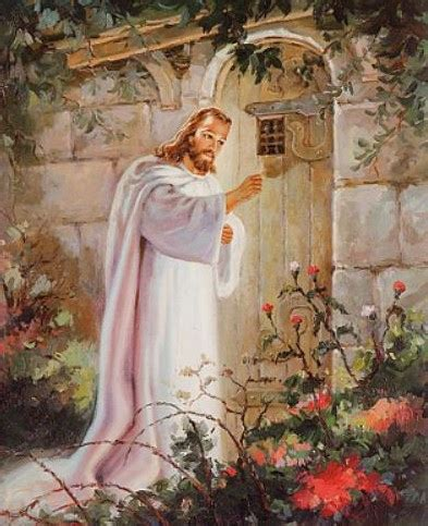Free Picture Of Jesus Knocking At The Door by Jesus Knocking At The Door 05 Flickr Photo