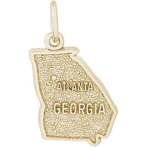 atlanta charm 10k gold 10 2974