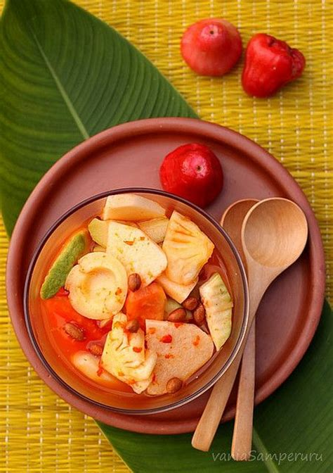 cara membuat salad buah ice cream 84 best images about rujak and asian and manisan buah on