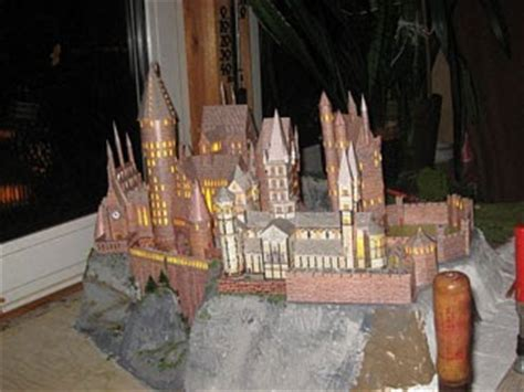 Hogwarts Castle Papercraft - harry potter papercraft hogwarts castle paperkraft net