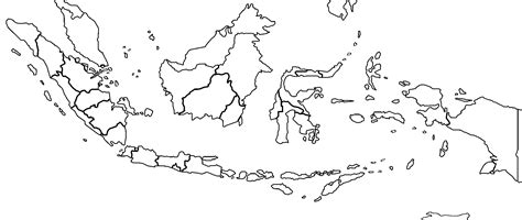printable peta indonesia free coloring pages of map of indonesia