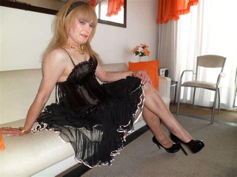 Flickr Crossdresser | crossdressing corset negro kep lencer 237 a pollera tul