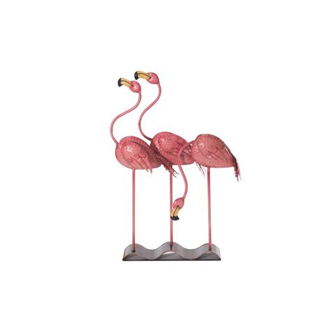 flamingo garden statue flamingo away sculpture gnome be