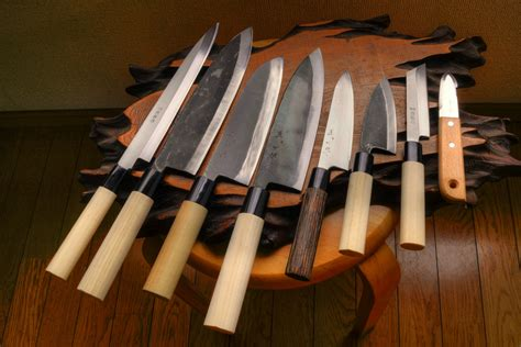 Japanese Kitchen Knives Set by 8 Kitchen Knife Set Standard