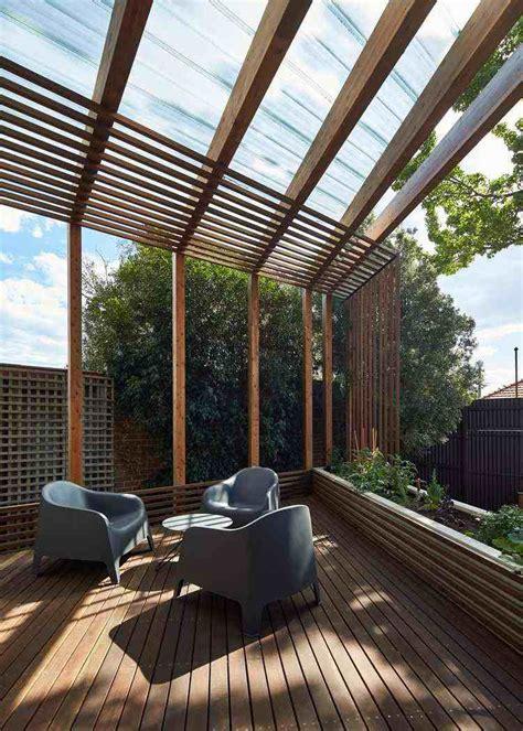Pergola Bois Moderne by Pergola Bois Moderne En 28 Mod 232 Les Adoss 233 S Ou Autoport 233 S