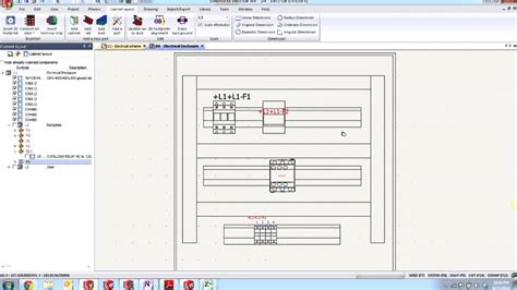 layout design solidworks solidworks electrical creating a 2d cabinet layout youtube