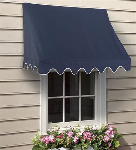 Outside Window Awnings Home by Scalloped Or Edge Window Awnings Home Outside