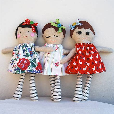 Handmade Dolls - personalised handmade doll by halliday