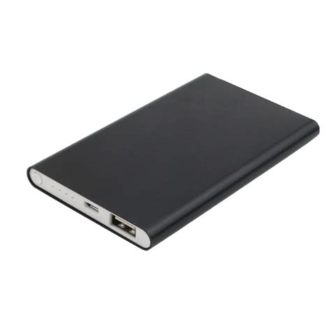 Power Bank Slim metal slim power bank 4000 mah promoteus cz unique gifts and promotion