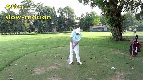 minimalist golf swing minimalist golf swing make over the top impossible youtube