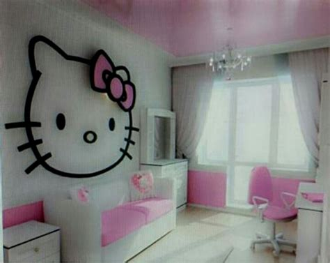 hello kitty bedroom decorations hello kitty pastel bedroom decor