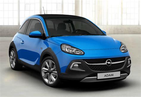 2019 Opel Adam X by Opel Adam Rocks 2019 Couleurs Colors