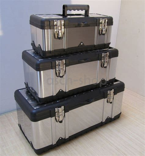 edel stahl kanister sets küche set 3st 252 ck werkzeugkasten werkzeug box kiste kasten