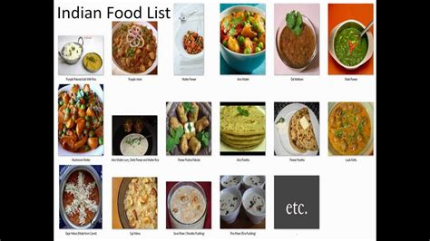 list of dishes indian food list list of indian snack foods list of indian