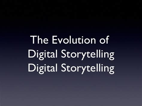 storytelling in the of the digital narrative studies in gaming books evolution of digital storytelling
