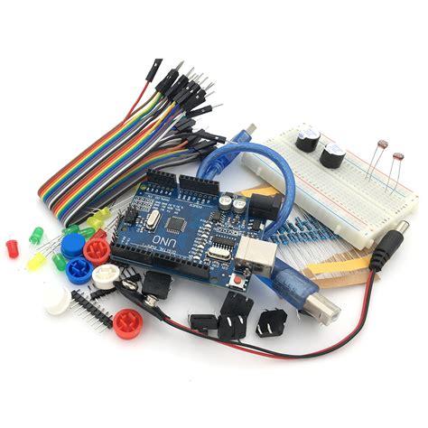 Starter Kit Kiosk 1set c0031 free shipping 1set new starter kit uno r3 mini breadboard led jumper wire button compatile