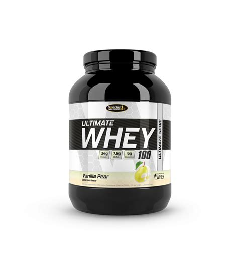 Whey Protein Isolate Ultimate 4 x ultimate whey 100 isolate protein pulver
