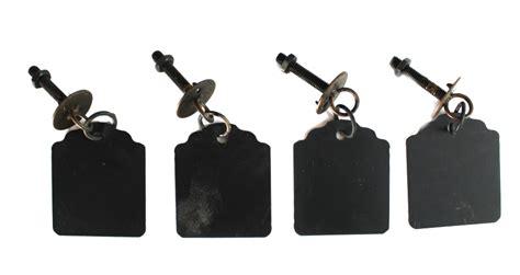 Fashioned Drawer Pulls by Fashioned Drawer Pulls Hanging Tags Chalkboard Metal
