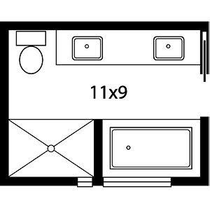 bathroom floor plans with tub and shower master bath floor plans