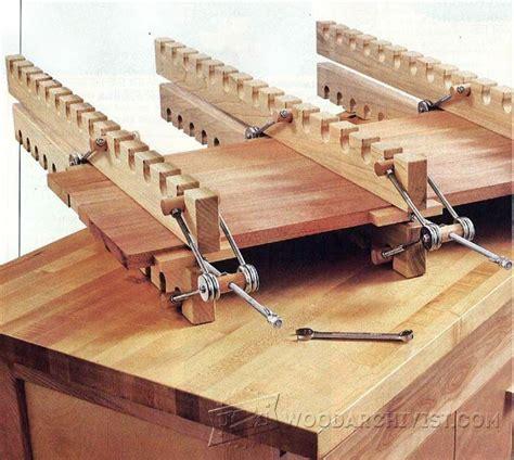 diy panel clamps woodarchivist