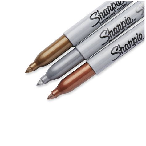 Metallic Marker Pen Set sharpie metallic permanent markers 3 pack