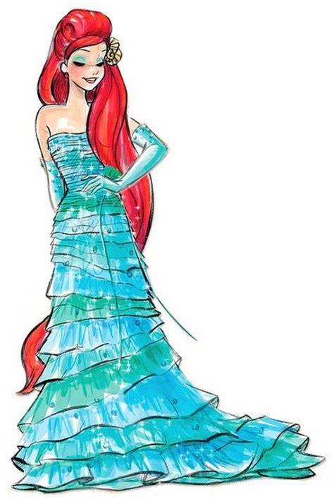 Disney Princess Designer Collection Drawings Google Disney Princess Ariel Drawings