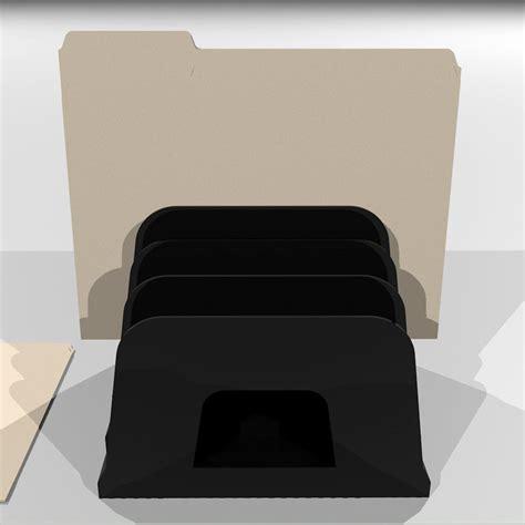 Manila Folder Rack 3d manila folder holder