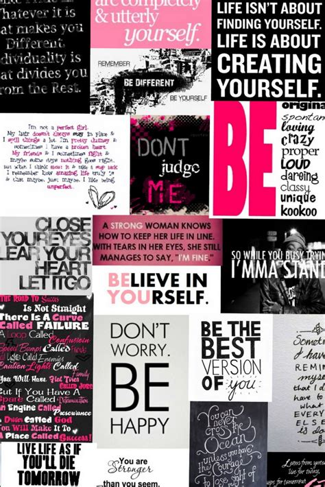 girly wallpaper with quotes girly background encouraging sayings as wallpaper