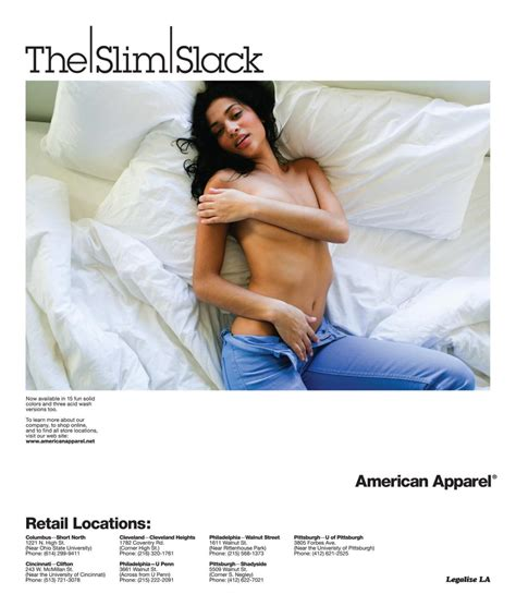 The American Made Controversy Controversial American Apparel Ads That Shaped The Brand