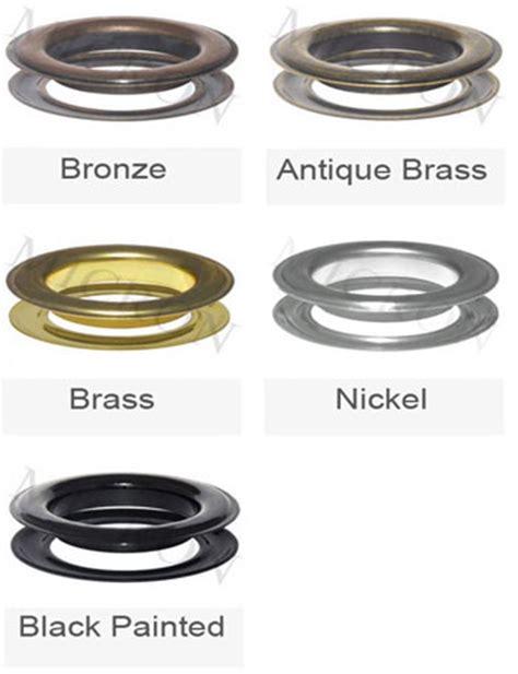 drapery grommets metal metal drapery grommets 15 best fabric store online