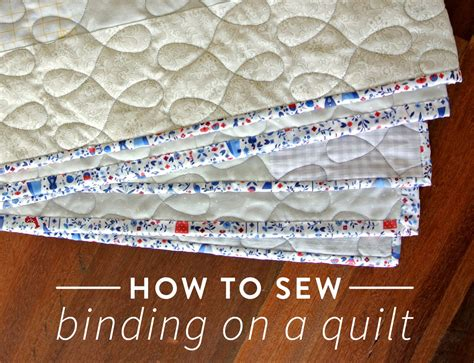 How To Sew Binding On A Quilt (VIDEO!)   Suzy Quilts