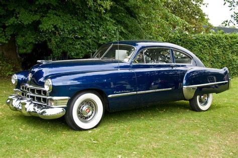 1948 cadillac fastback classic 1949 cadillac series 61 fastback sedanette