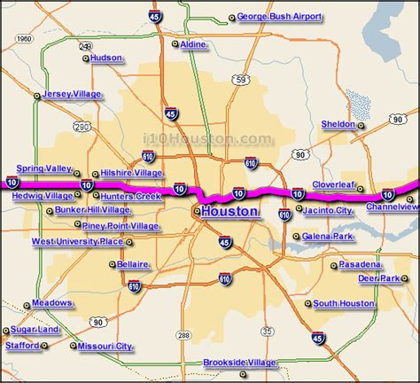 texas road closures map image gallery i 10 map