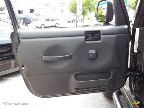 jeep wrangler grey interior 2006 jeep wrangler unlimited rubicon 4x4 dark slate gray