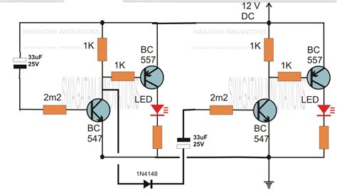 hobby electronics circuits simple delay timer circuits