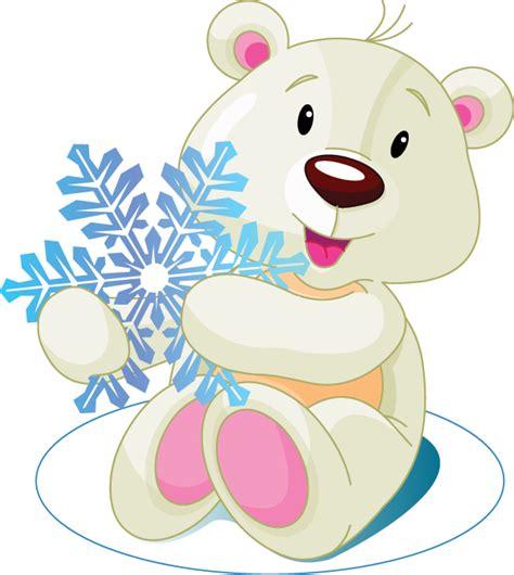 snowflake bear symbols emoticons