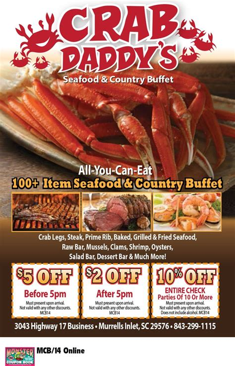 printable restaurant coupons for myrtle beach sc 186 best images about coupons for myrtle beach on