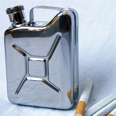 küchen kanister aus rostfreiem stahl flachmann design kanister mit schraubverschluss 5 oz